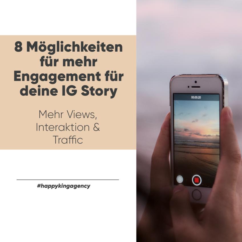 8 Möglichkeiten für mehr Engagement für deine Instagram Stories