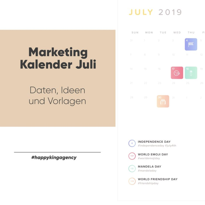 Marketingkalender – So nutzt du ihn richtig