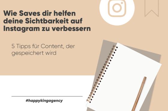 Wie Saves dir helfen deine Sichtbarkeit auf Instagram zu verbessern