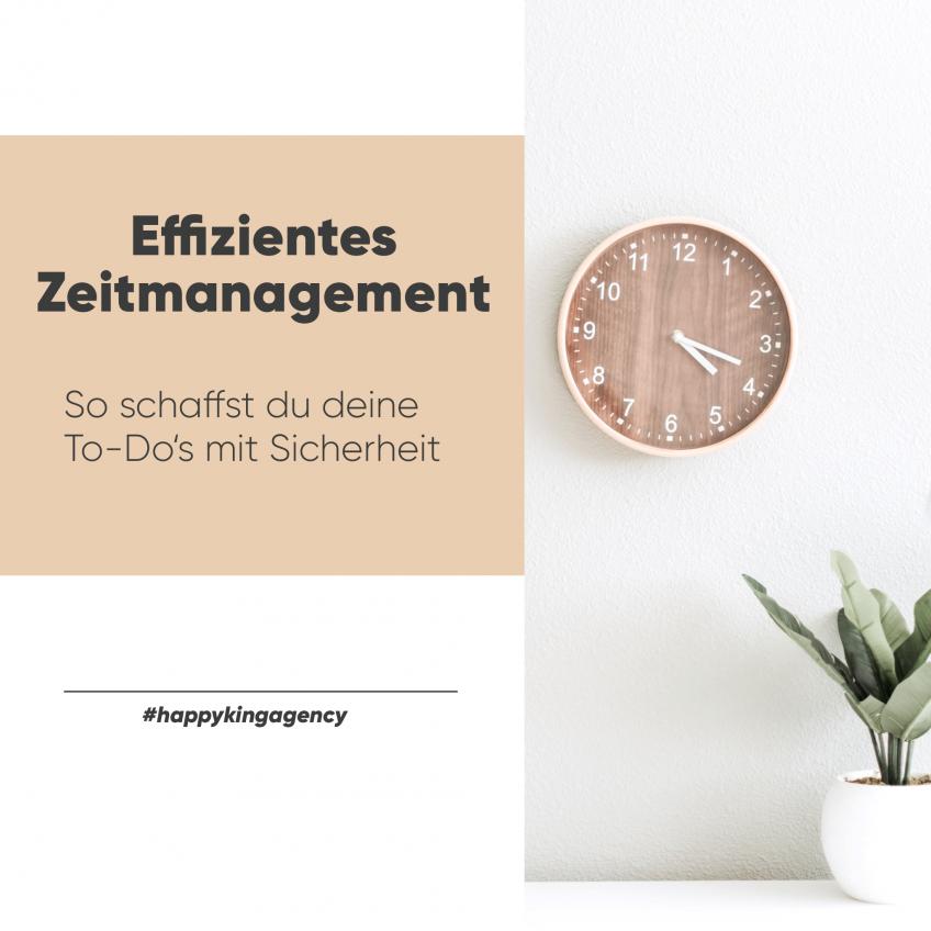 Zeitmanagement – 5 Tipps, wie du deine Aufgaben effizienter erledigst