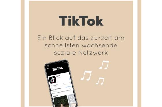 TikTok als wichtiges Netzwerk im modernen Social Media Marketing – Warum du dich damit befassen solltest