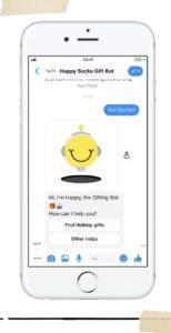 Facebook Messenger Marketing Case: Happy Socks