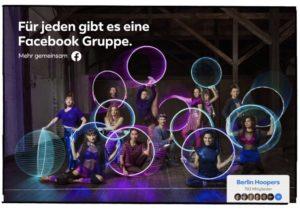 Facebook Gruppen Kampagne 19/20
