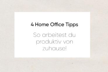 Unsere Tipps für das Arbeiten im Home Office